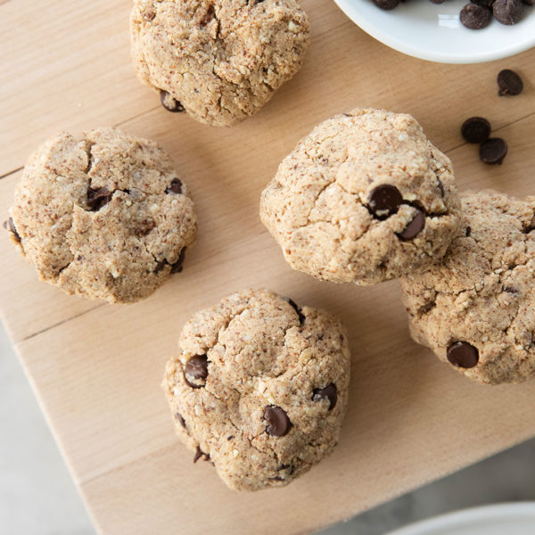 GLUTEN-FREE, DAIRY-FREE PEANUT BUTTER CHOCOLATE CHIP COOKIES