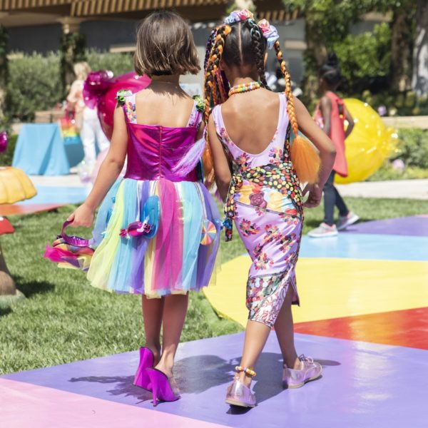 Inside Penelope and North's Candy Land Birthday Party