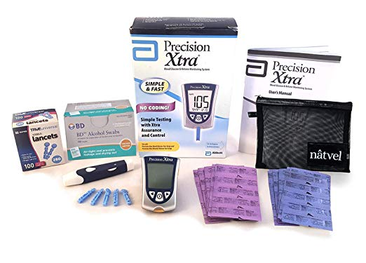 Blood Glucose and Ketone Monitoring System Bundle Kit