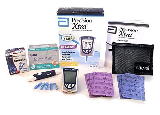 Blood Glucose and Ketone Monitoring System Bundle Kit