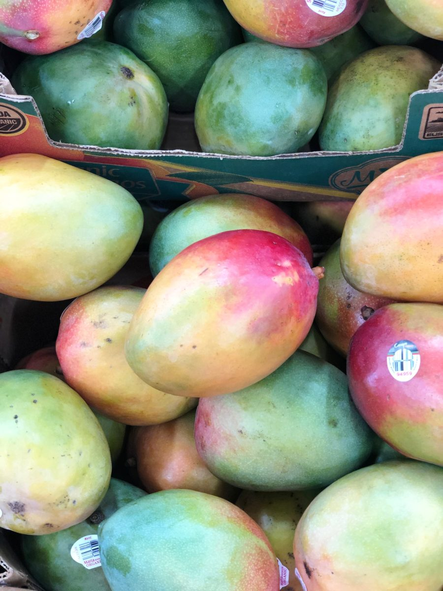 Organic Seasonal Mangoes