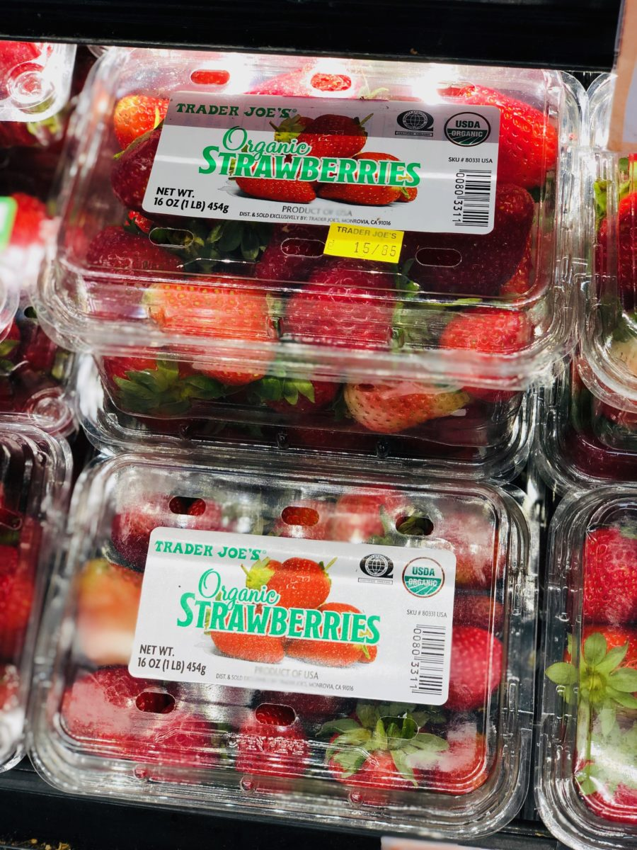 Trader Joe's Organic Berries