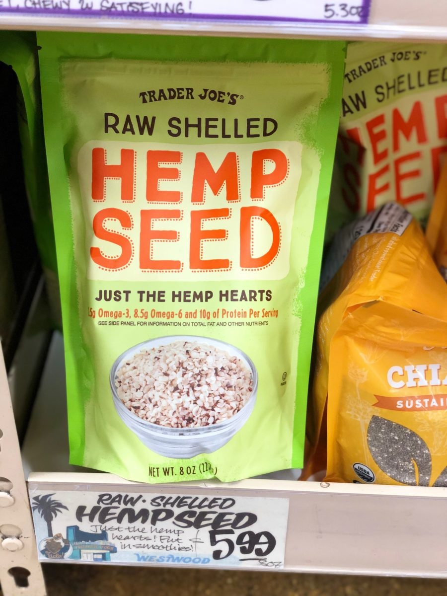 Trader Joe's Hemp Seeds