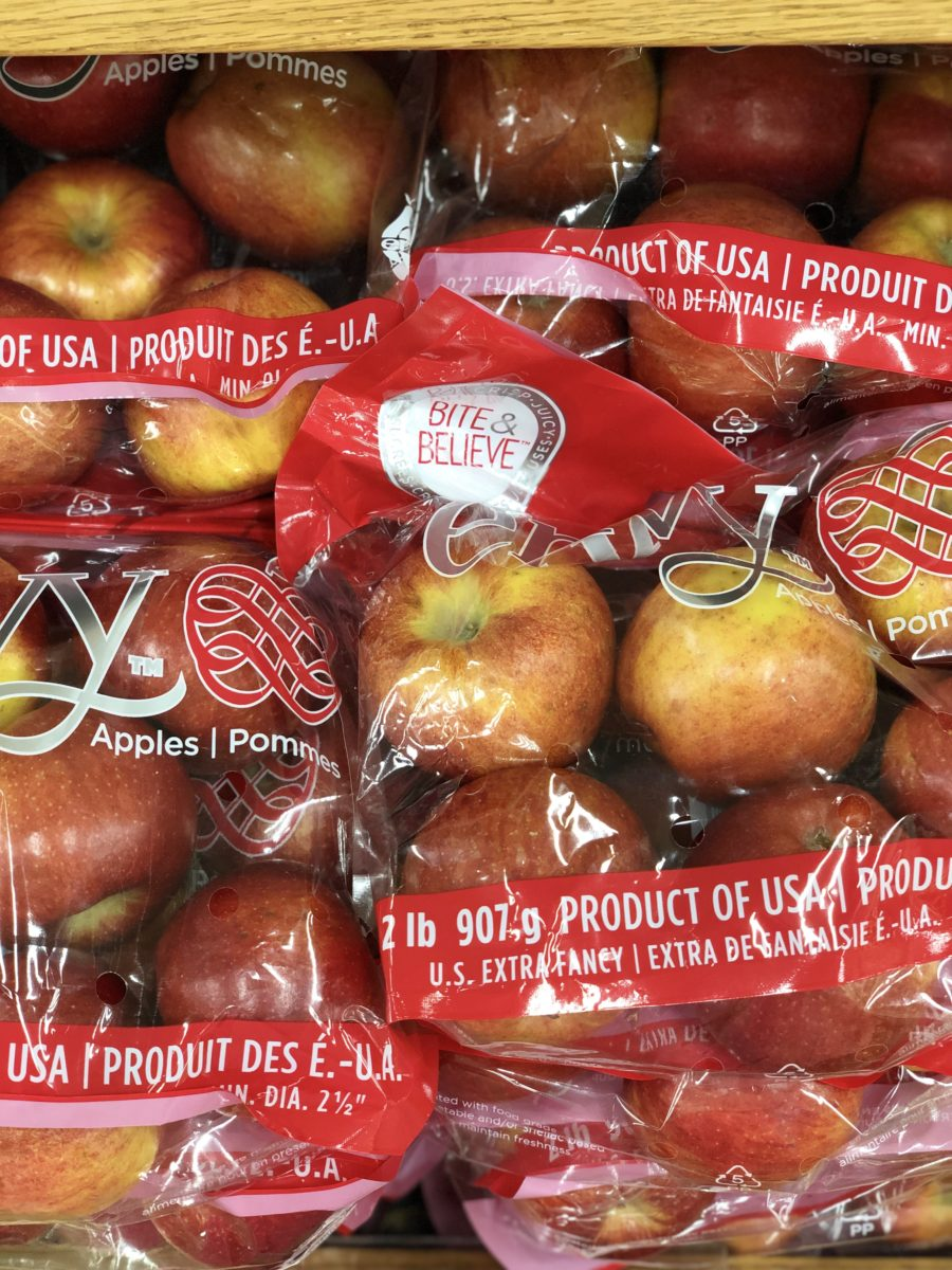 Trader Joe's Envy Apples