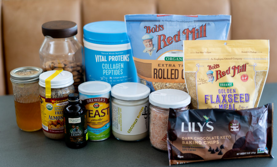 Ingredients for No-Bake Lactation Cookies