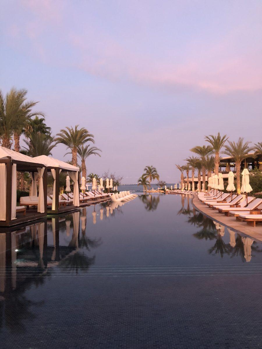 chileno bay sunset photo of resort