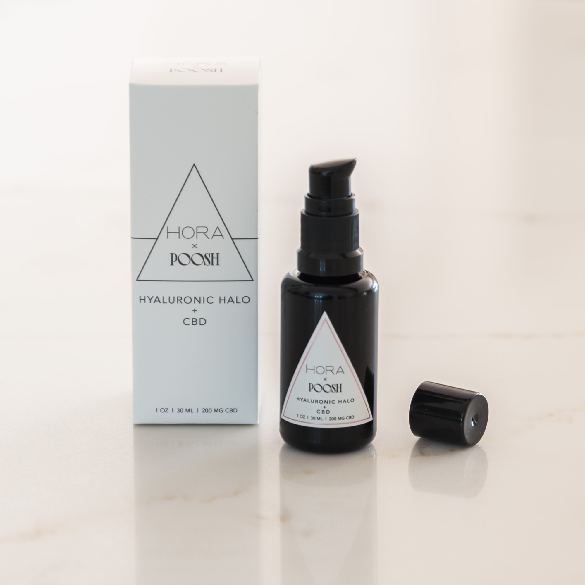 Hora x Poosh Hyaluronic Halo + CBD Serum