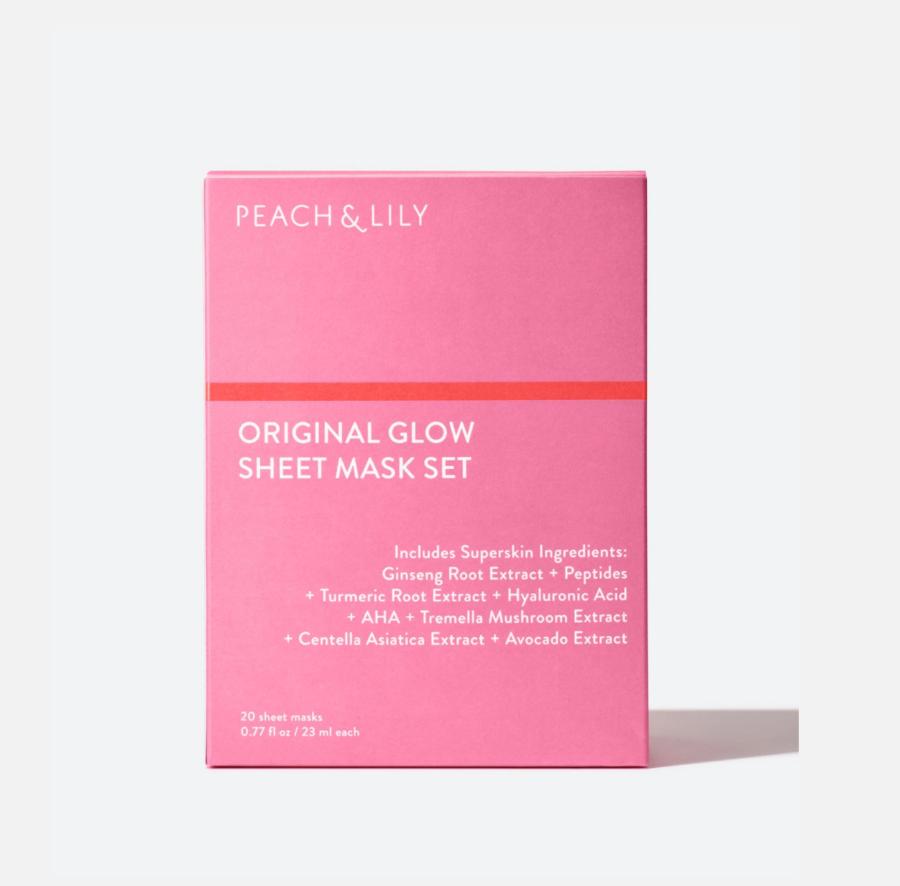 Peach & Lily Original Glow Sheet Mask Set ($79)