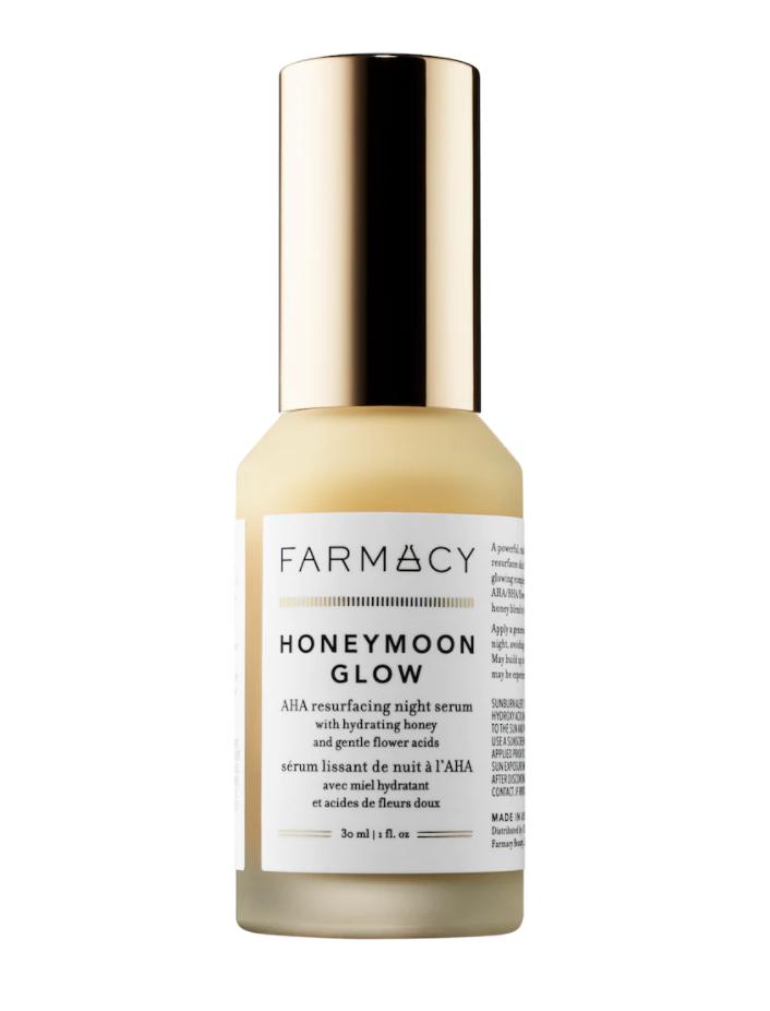 Farmacy Honeymoon Glow AHA Resurfacing Night Serum ($58)