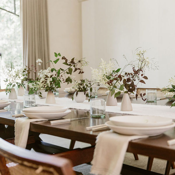 Setting a Table with Kourt and Jenni Kayne (Transcribed)