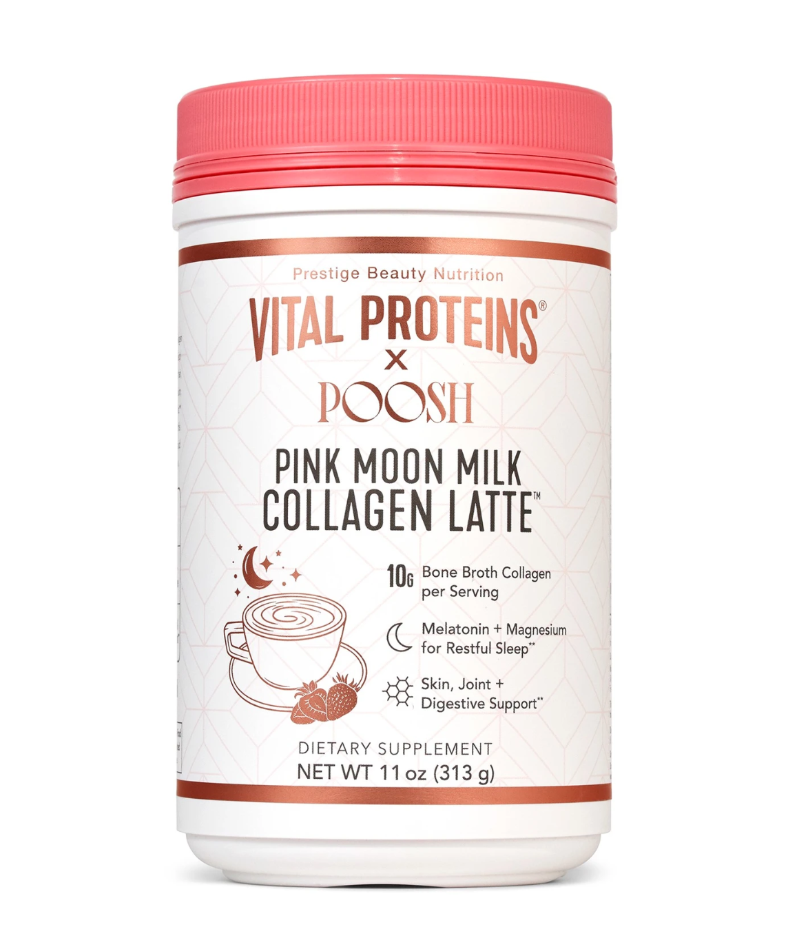 PINK MOON MILK COLLAGEN LATTE
