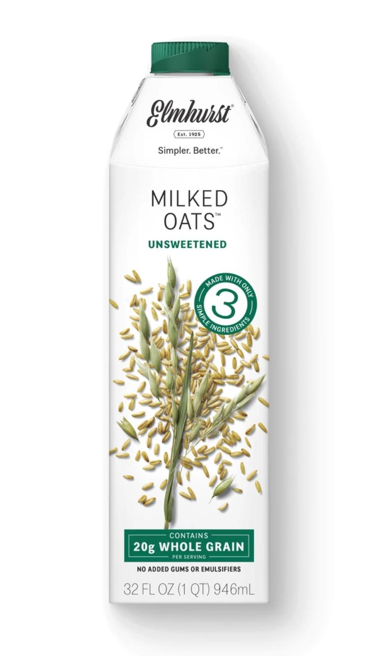 Elmhurst Unsweetened Milked Oats