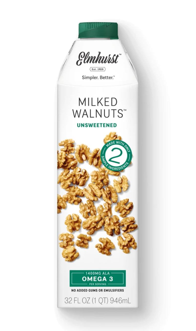Elmhurst Unsweetened Milked Walnuts