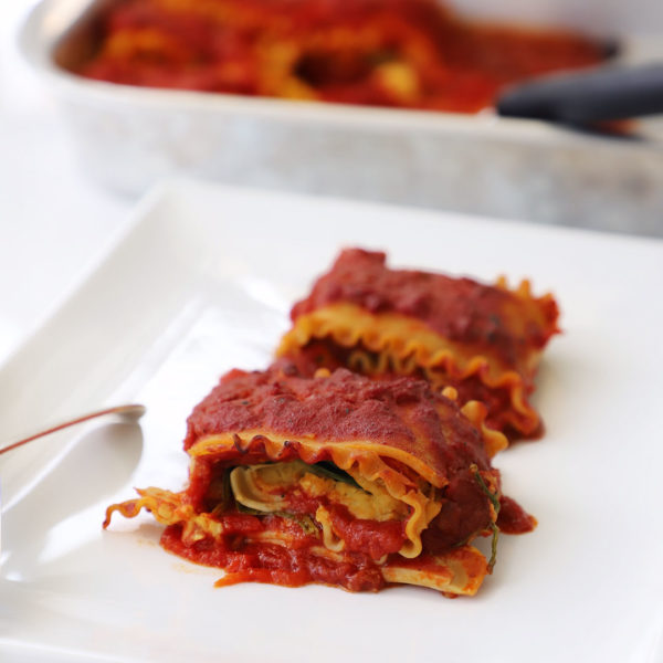 How to Make Plant-Based Lasagna Wheels