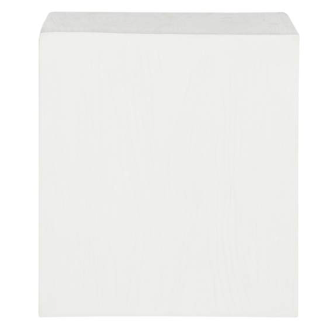Safavieh Cube Ivory Concrete Indoor-Outdoor Accent Table