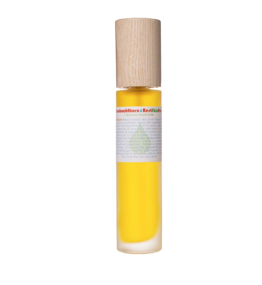 Living Libations Best Skin Ever Seabuckthorn Cleaning Oil $31
