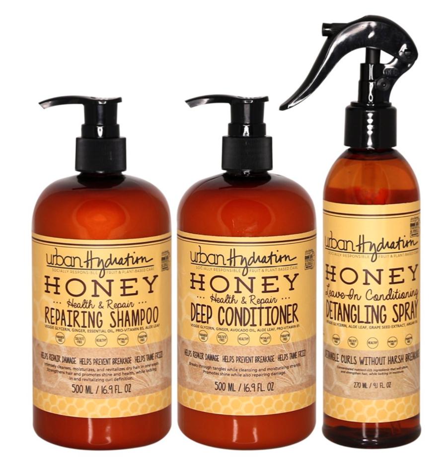 Urban Hydration Honey Health & Repair 3-Piece Haircare Set ($32)