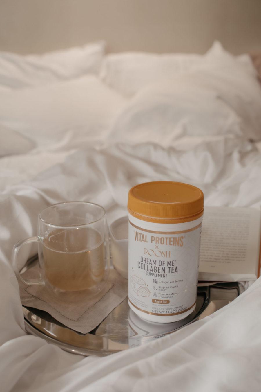 Vital Proteins x Poosh Dream of me tea