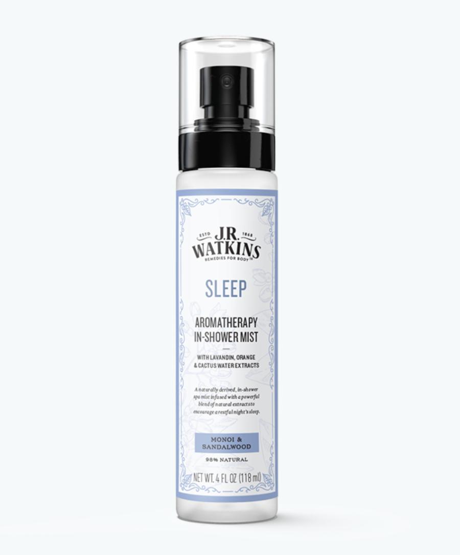 J.R. Watkins Sleep Aromatherapy In-Shower Mist ($15)