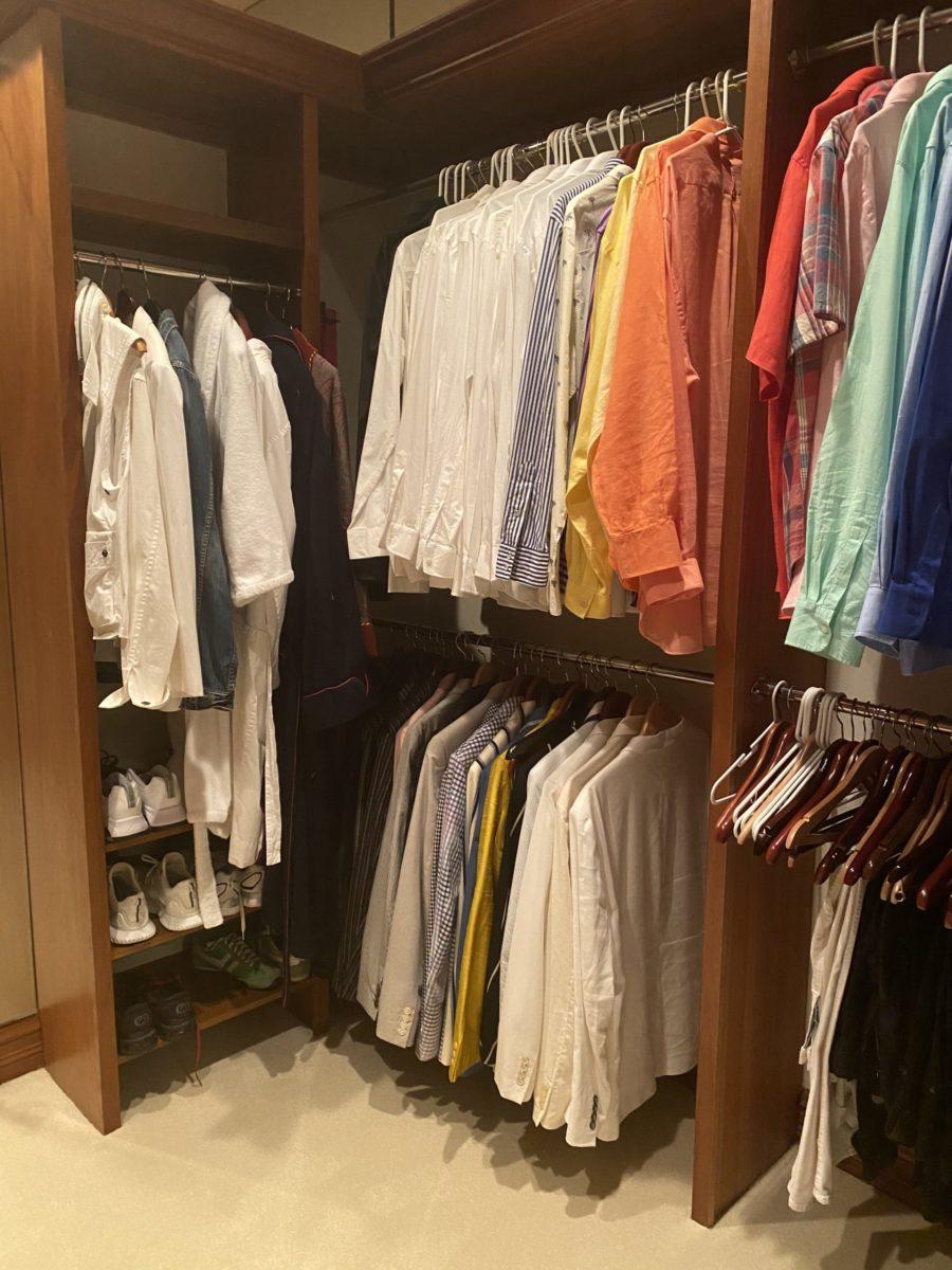 Rod Stewart closet photos