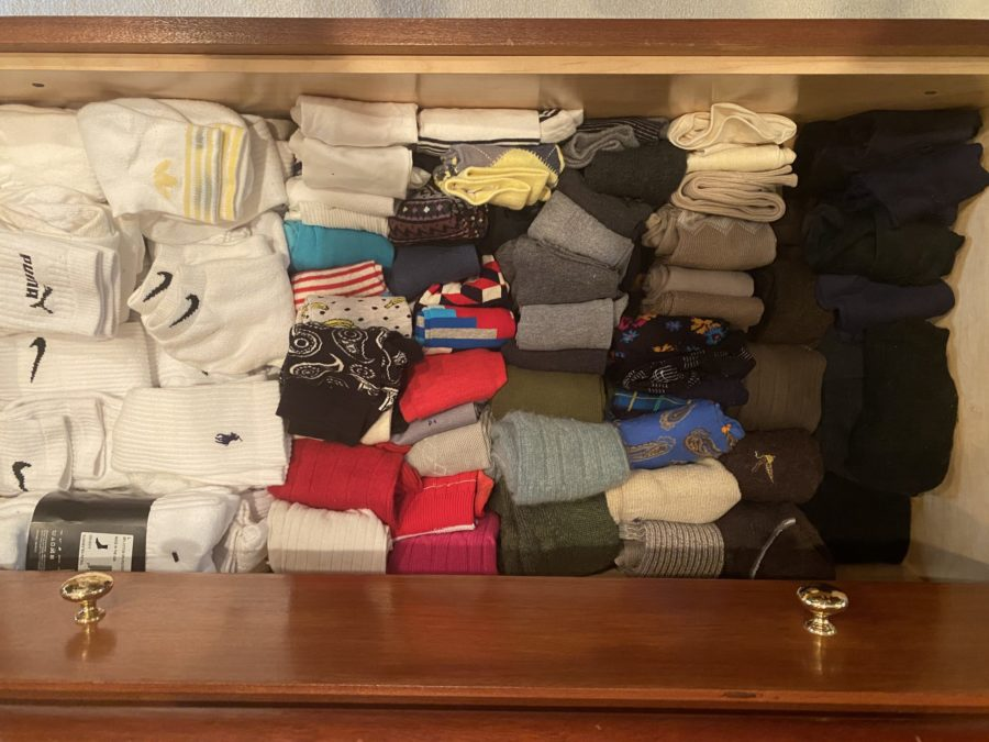 Rod Stewart sock drawer