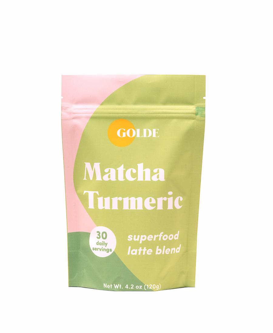 Golde Matcha Turmeric Superfood Latte Blend $29