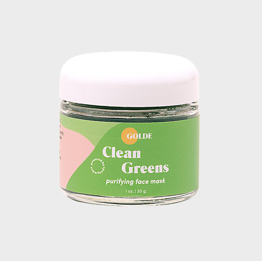 Golde Clean Greens Face Mask $34