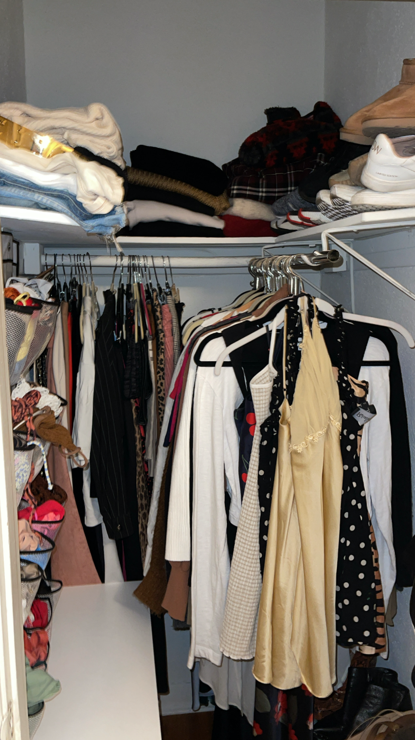 closet organization after
