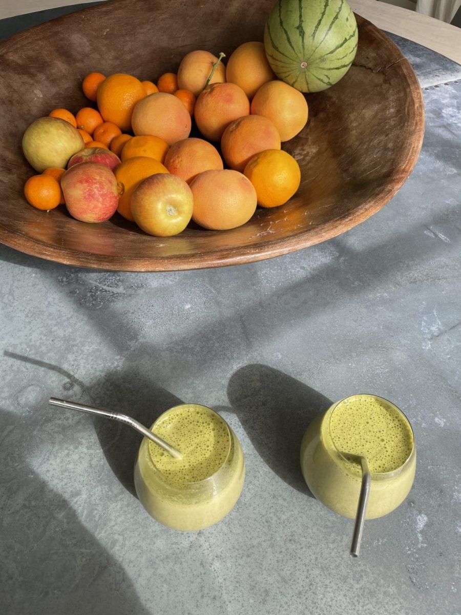 kourtney kardashian's avocado shake