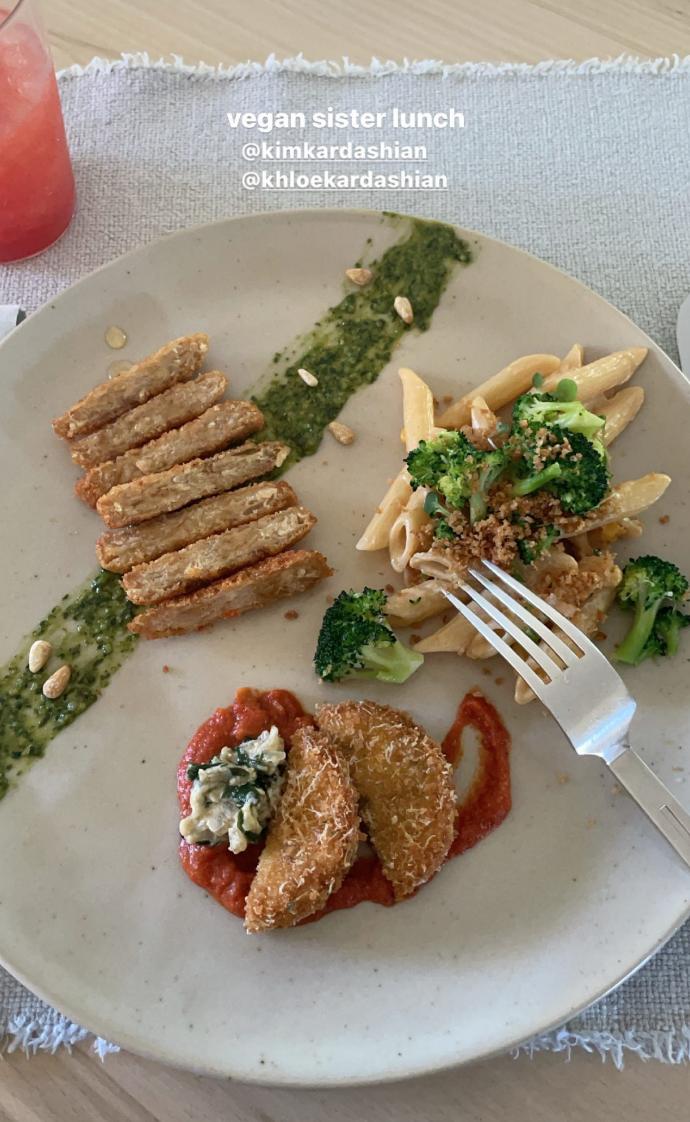 Kim Kardashian's Plant-Based Eggplant Parmesan Recipe