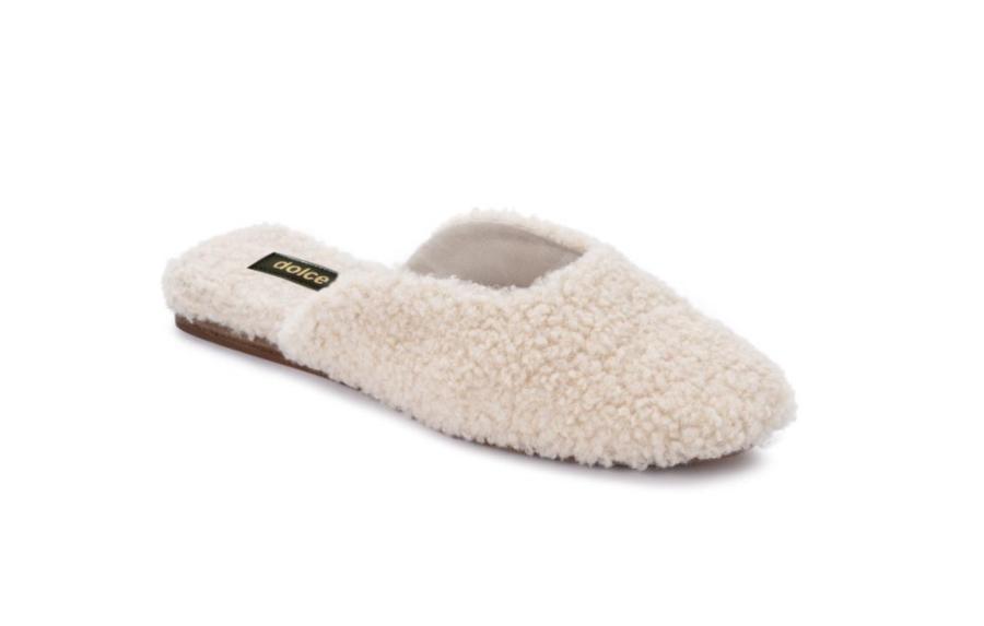 Dolce Vita Saydee Slipper – Natural Plush $60