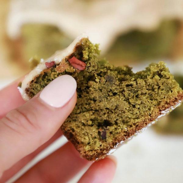 Gluten-Free Morning Matcha Cake