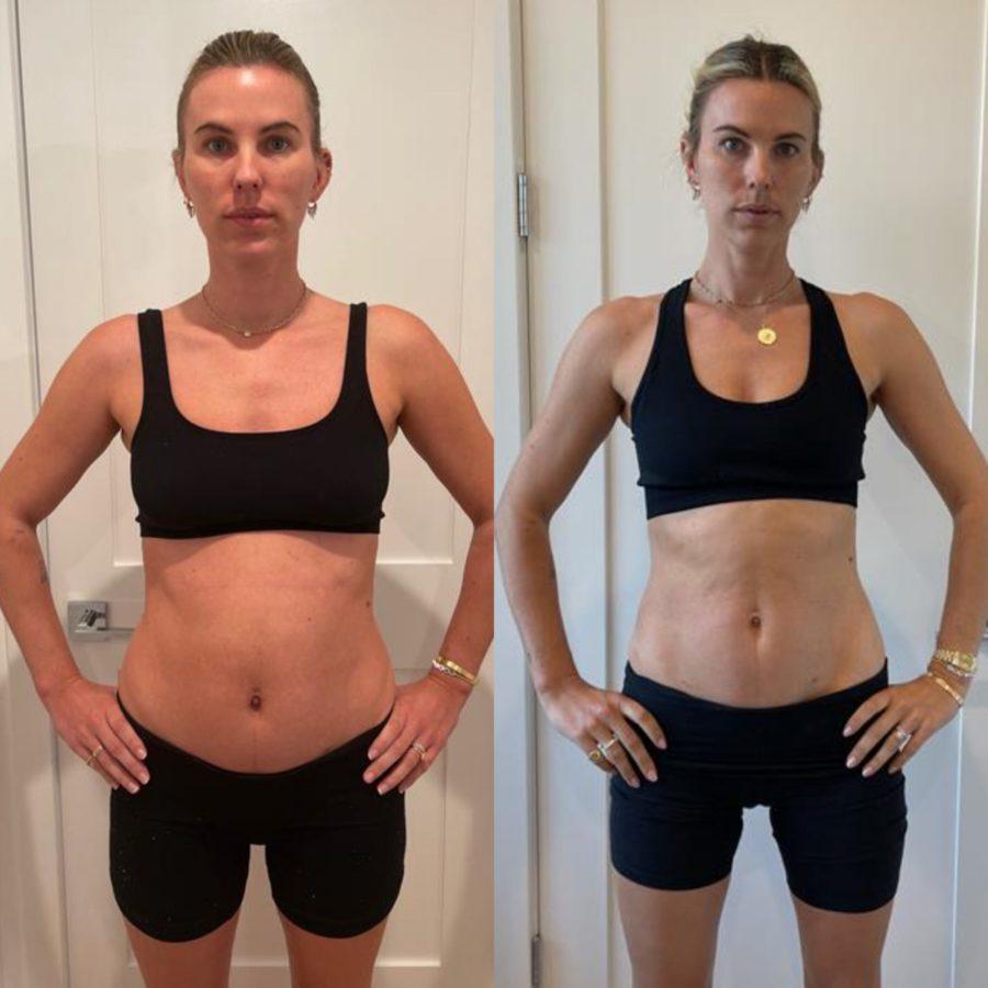 Katie Durko Karvinen post-pregnancy weight