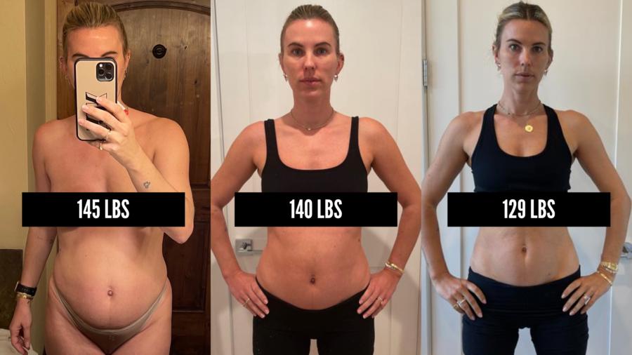 Katie Durko Karvinen post-pregnancy weight loss journey