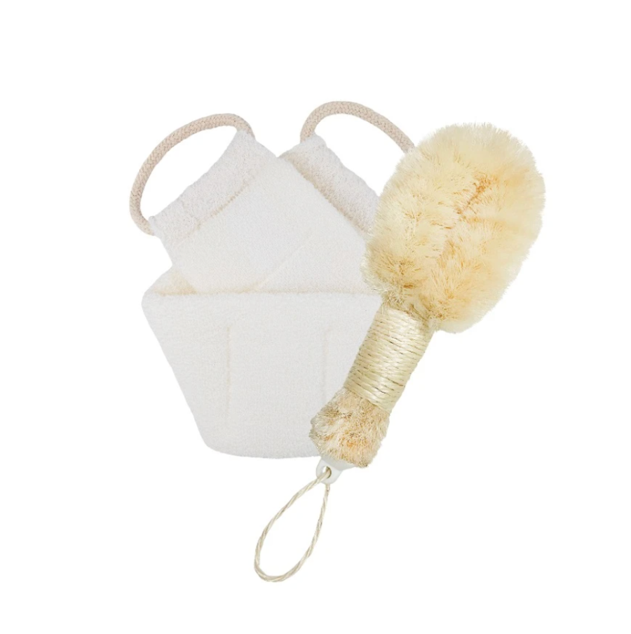 Daily Concepts Sisal Brush & Back Scrubber Bundle $34