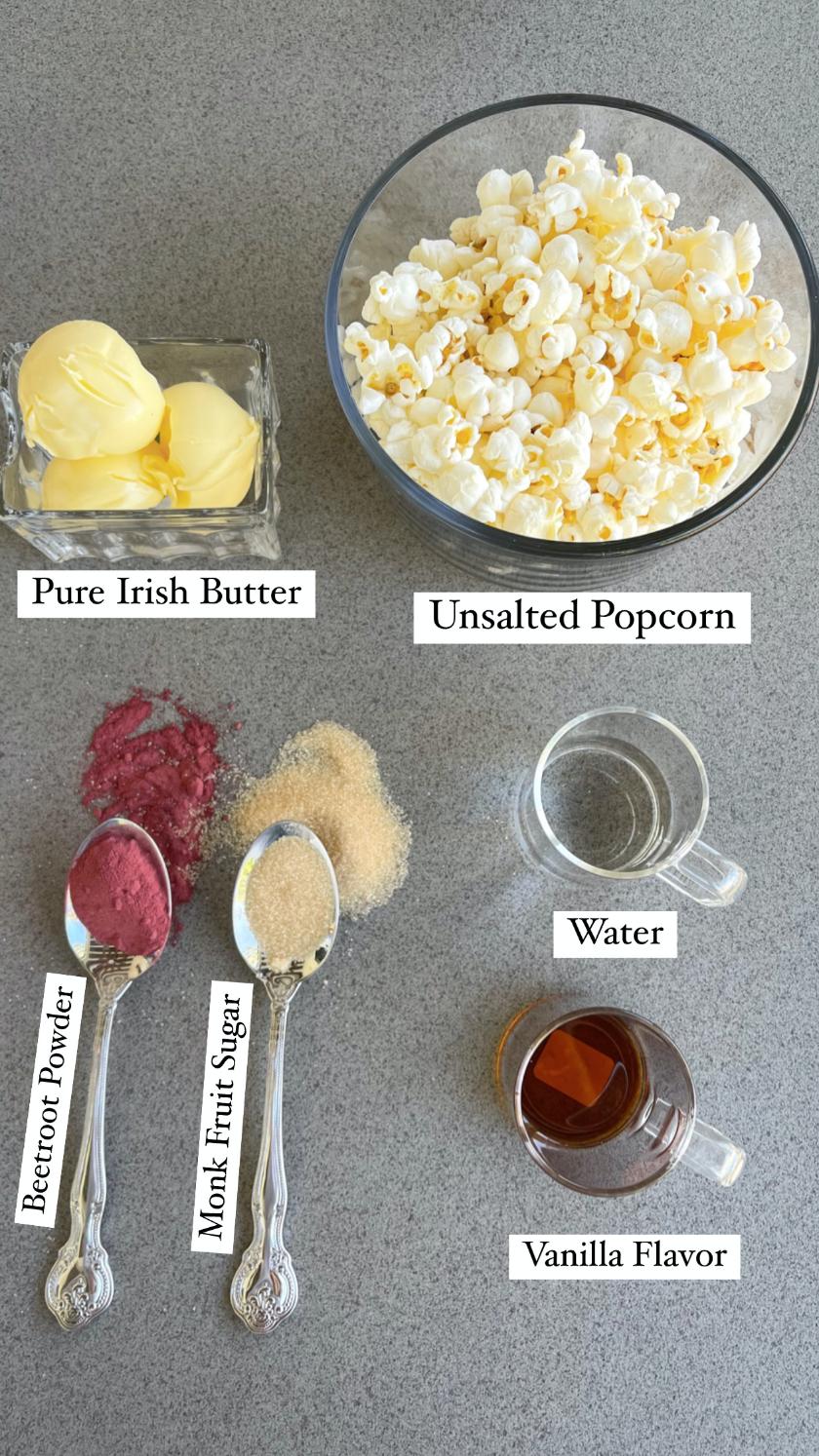 pink popcorn ingredients