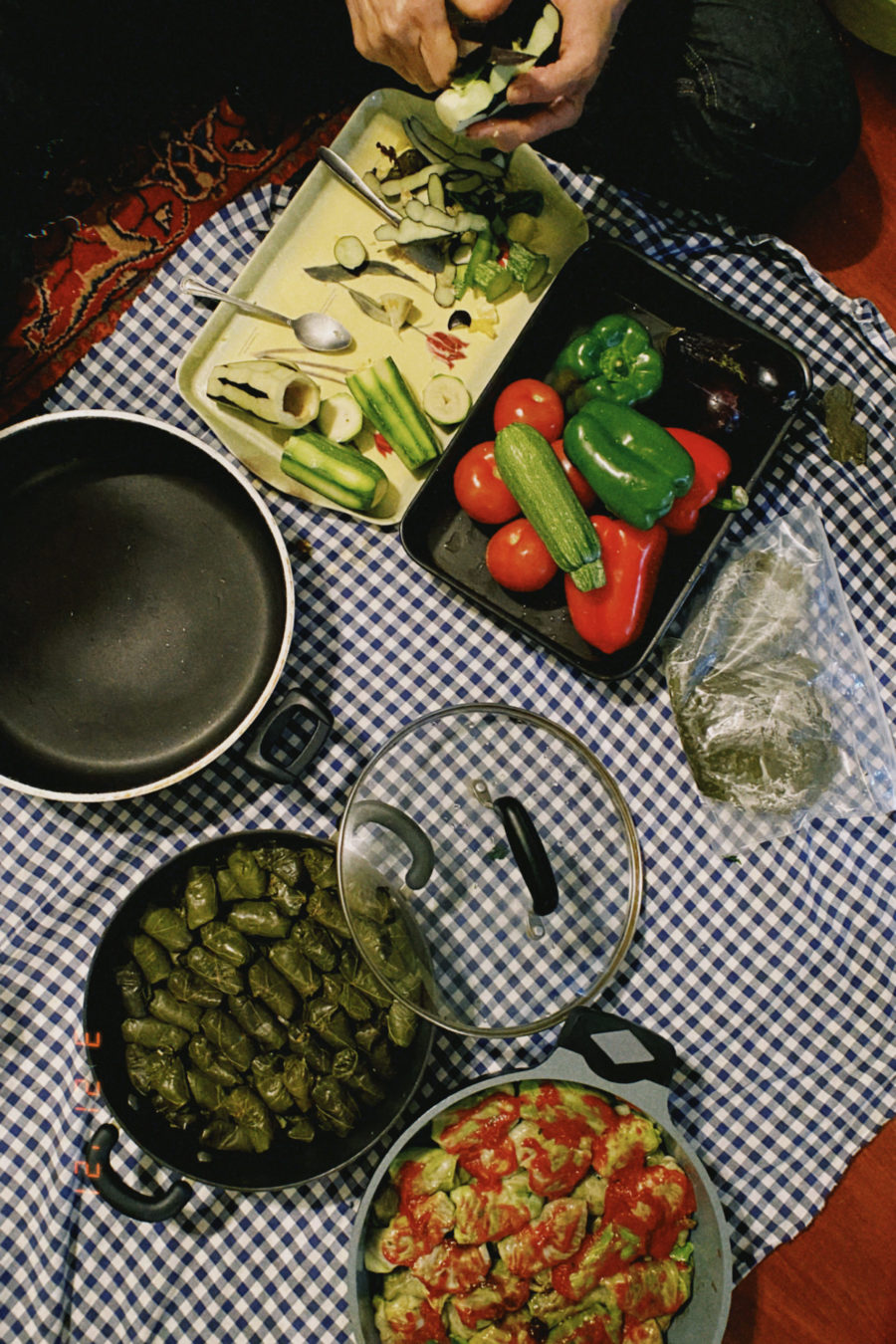 domla ingredients in bowls