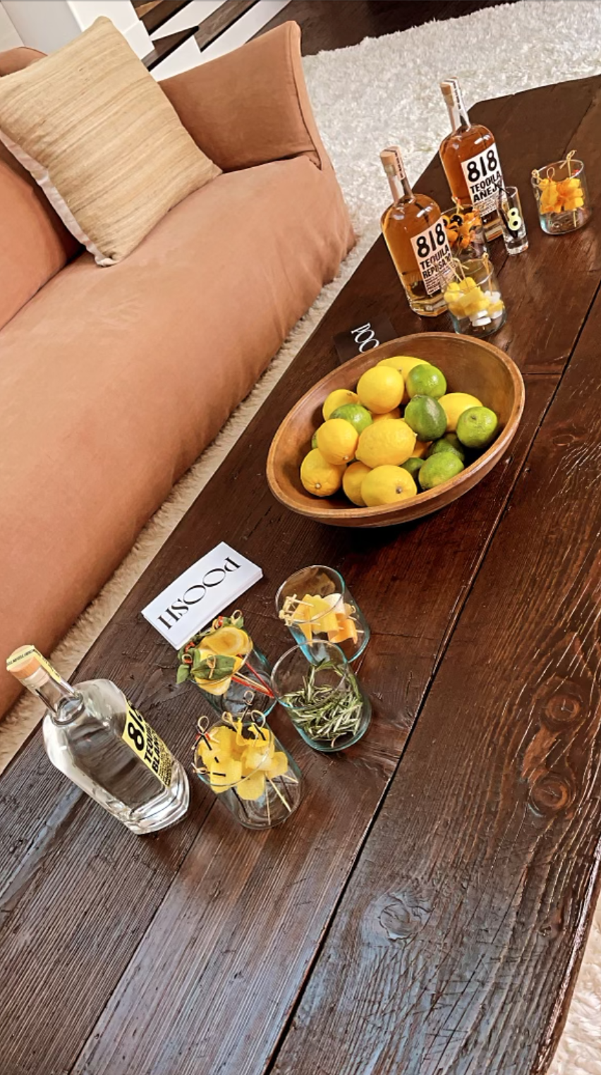 818 tequila with citrus kendall jenner