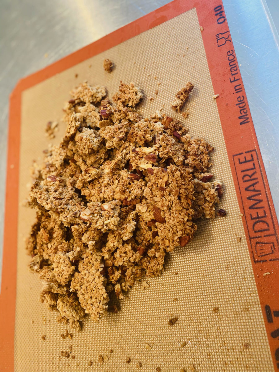 Making of Kim's granola