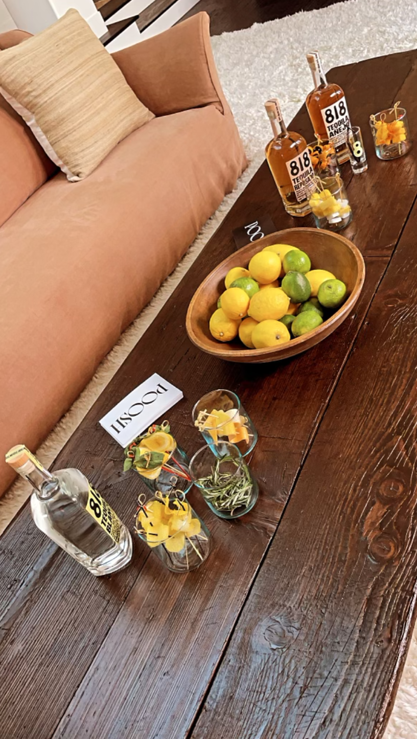 kendall jenner 818 Tequila Twist Bar at Home