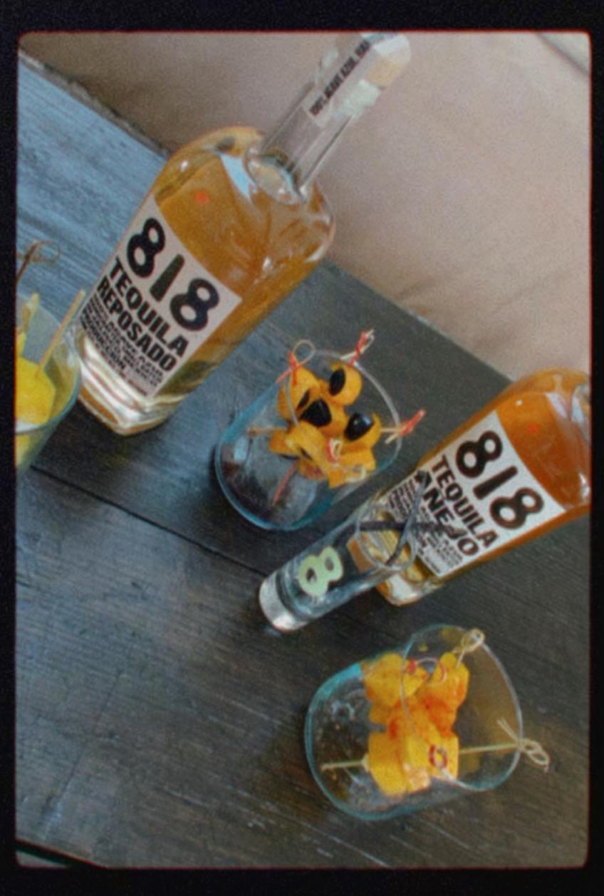 818 REPOSADO tequila twist bar