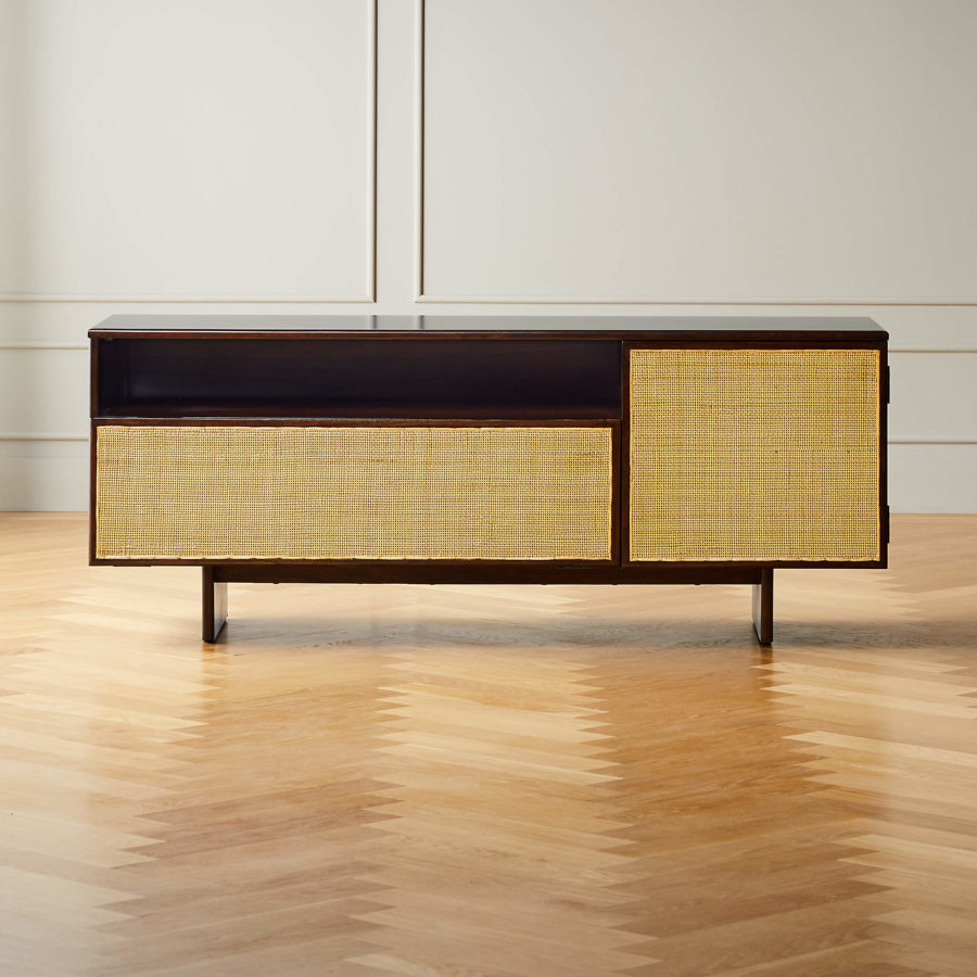 Halsted Cane Media Console ($799)