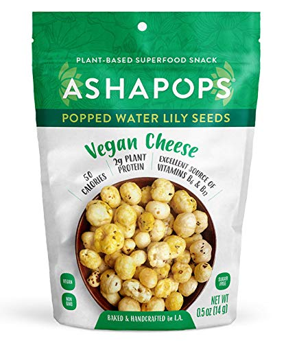 AshaPops Vegan Cheese Popped Water Lily Seeds ($35)