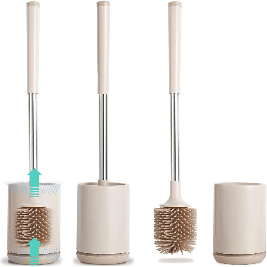SLCarrywon Silicone Flex Toilet Brush and Holder ($17)