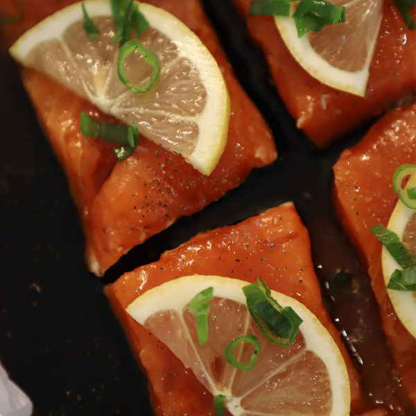 Honey Soy Salmon Squares in Under 30 Minutes