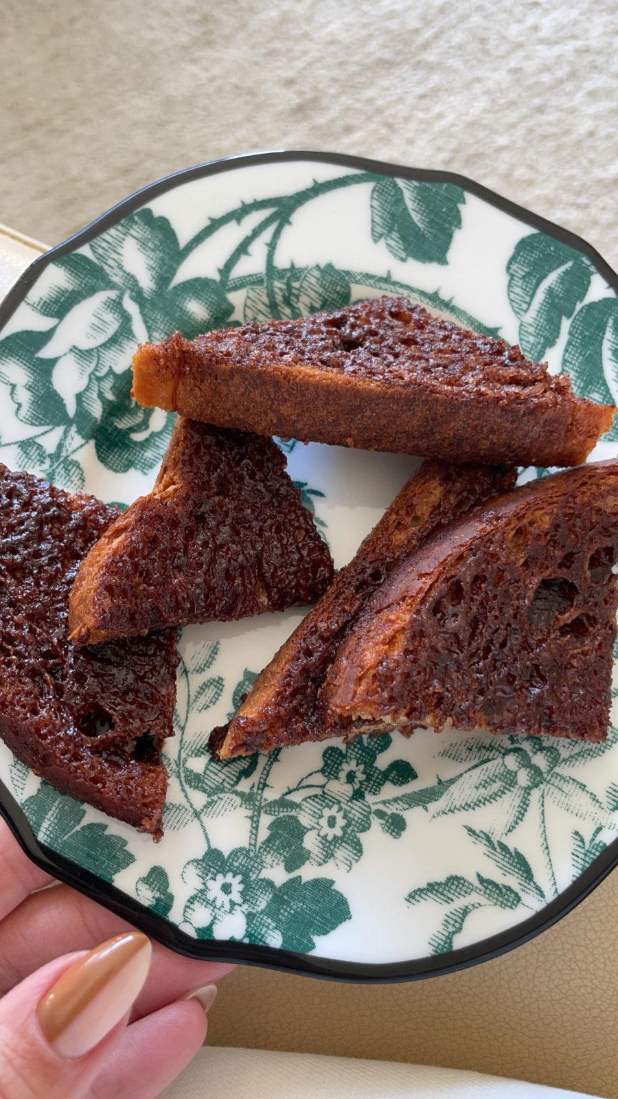 Kourtney Kardashian cinnamon toast recipe