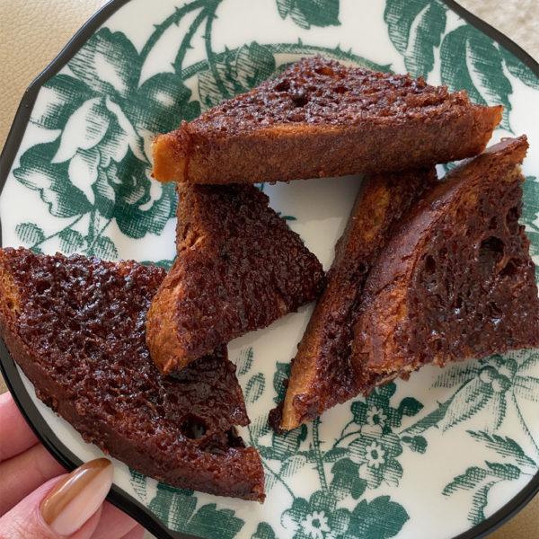 Kourt's Gluten-Free and Vegan Cinnamon Toast Recipe