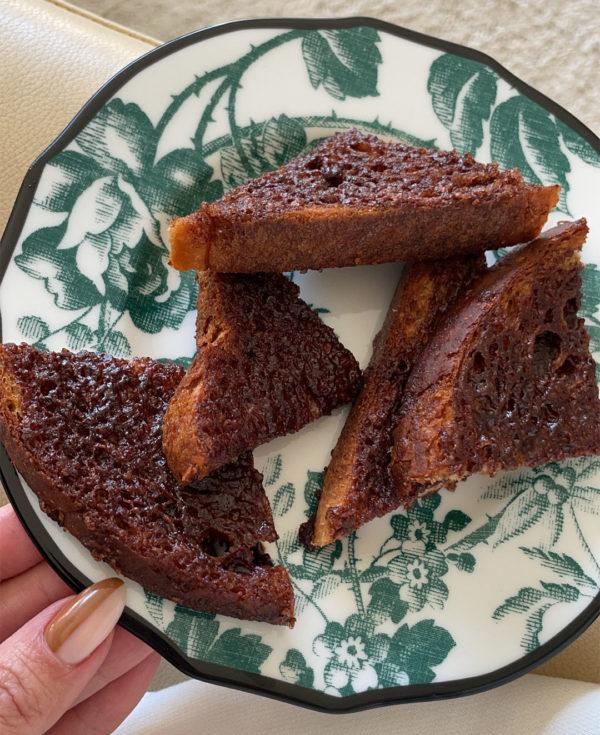 <em>Kourt's Gluten-Free and Vegan</em> CINNAMON TOAST RECIPE