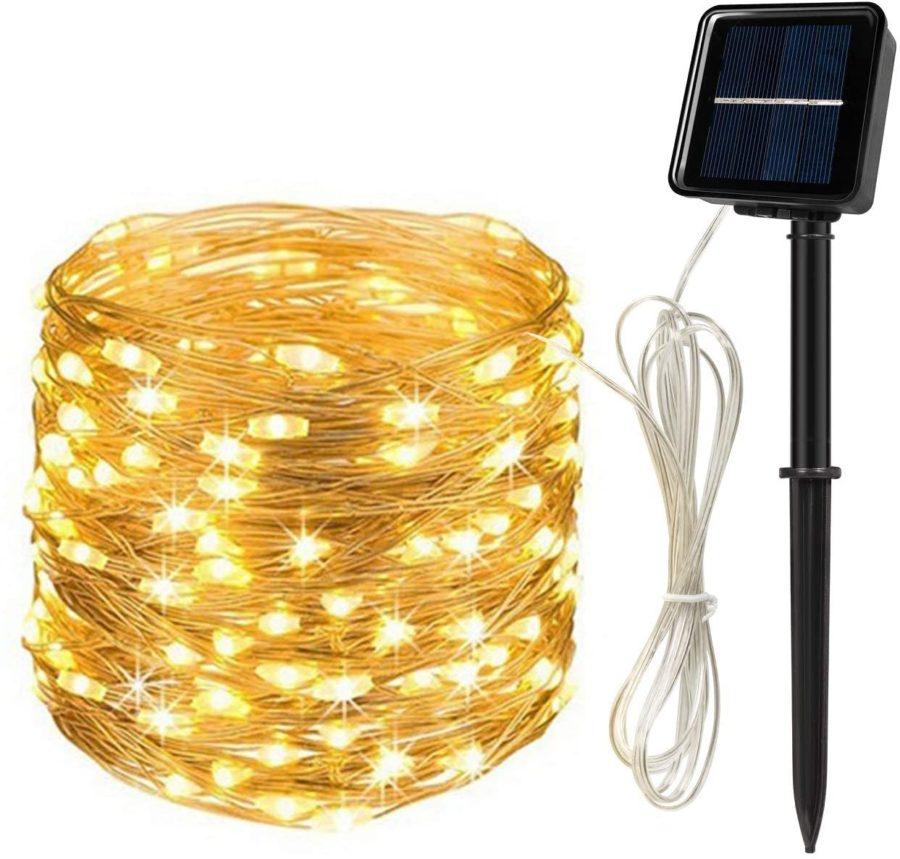 MAEXUS Outdoor Solar String Lights ($14)
