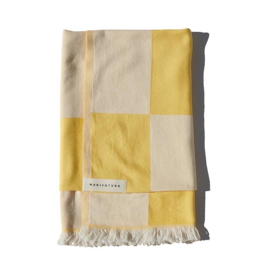 Manifatura Citrus Beach Towel ($65)